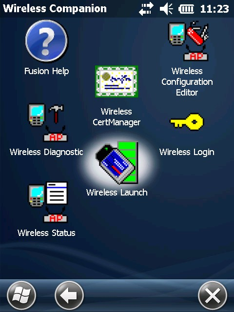 Wireless Launch Icon